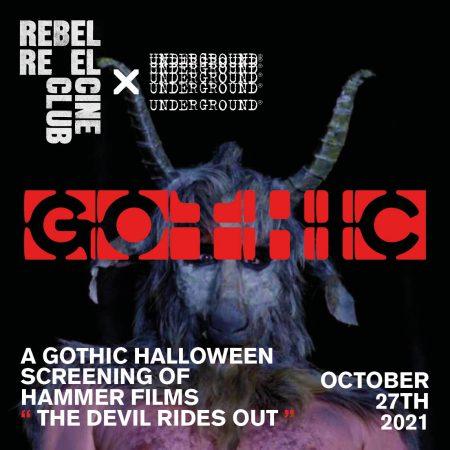 UG x Rebel Reel Cine Club Gothic