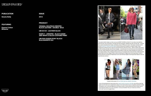 Underground Press Features Gallery - Grazia Wulfrun & Barfly Creepers