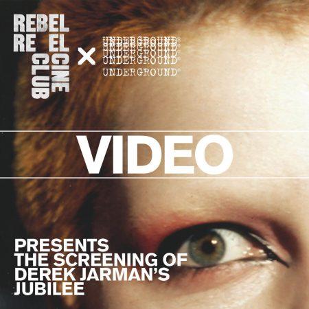 Jubilee screening video Underground X Rebel Reel CIne Club