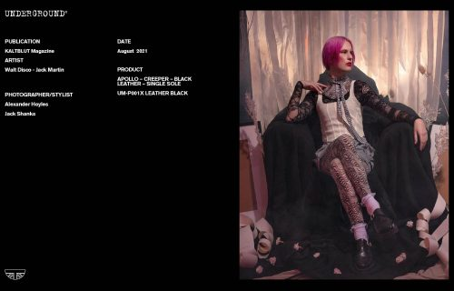 Press Features Gallery - Artists Walt Disco Photographer/Stylist: Alexander Hoyles Jack Shanks