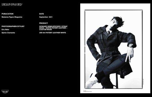 Press Features Gallery - Madame Figaro Photographer/Stylist: Eric Nehr Sylvie Clemente