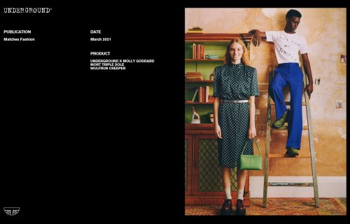 Underground Press Features Gallery - Molly Goddard March 2021 Publication: Matches Fashion
