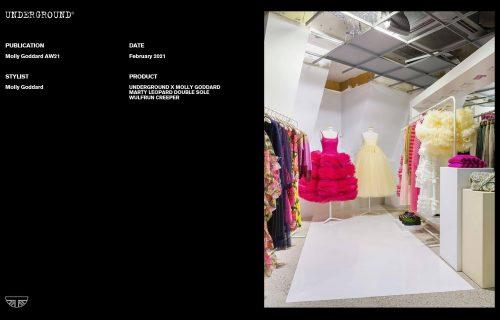 Underground Press Features Gallery - Molly Goddard February 2021 Stylist: Molly Goddard Publication: AW21