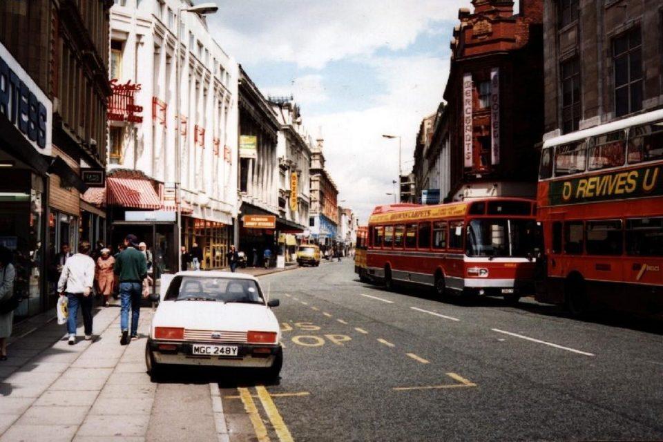 Northern Quarter oldham-street-1988-2