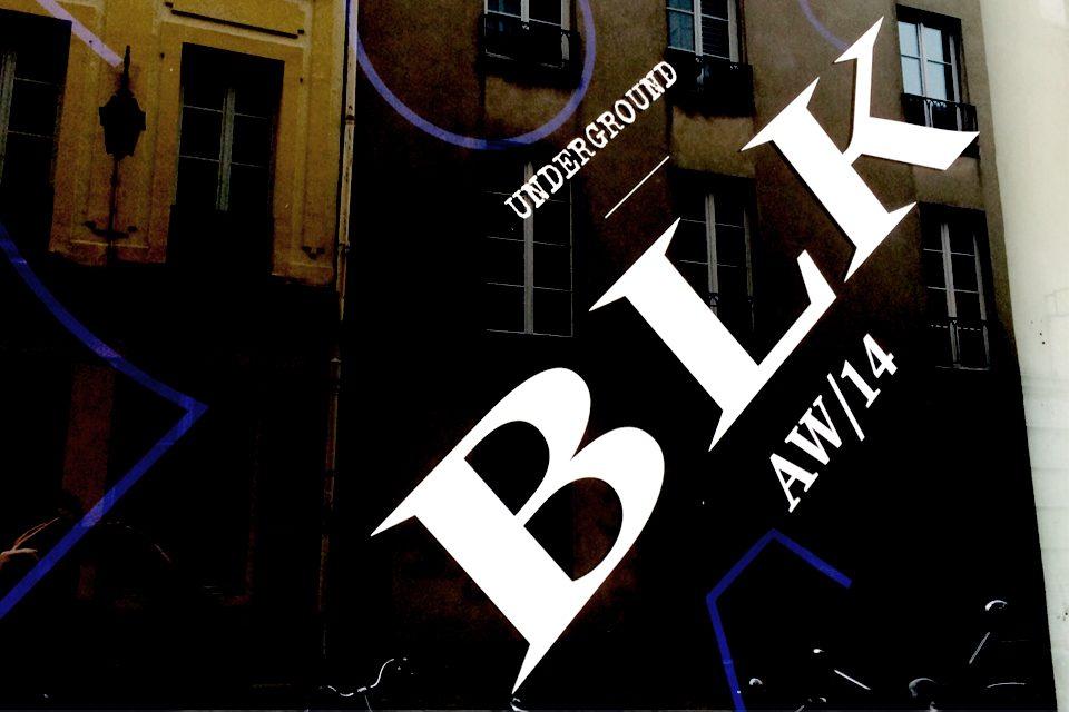Paris BLK Underground Black Leather Shoes Boots