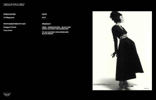 Press Features Gallery - Independents 2011 Photographer/Stylist: Greggory Harris Tony Irvine