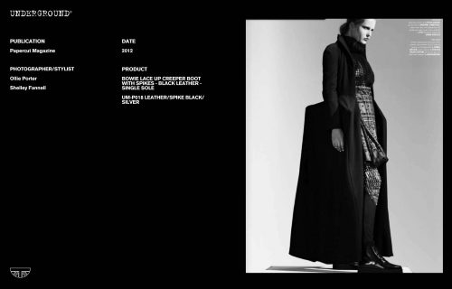 Press Features Gallery - Independents 2012 Photographer/Stylist: Ollie Porter Shelley Fannell