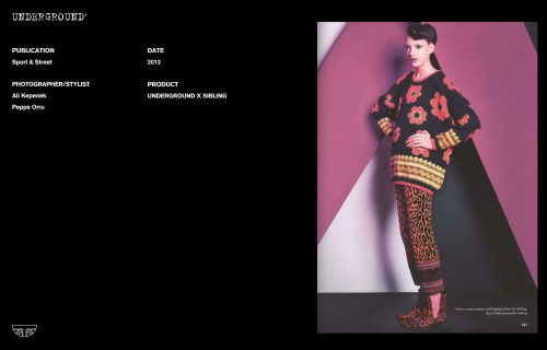 Press Features Gallery - Independents 2012 Photographer/Stylist: Ali Kepenek Peppe Orru