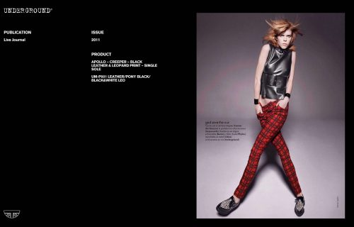 Press Features Gallery - Independents UM-P001 LEATHER/PONY BLACK/BLACK&WHITE LEO