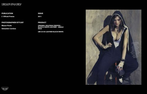 Press Features Gallery - Independents Photographer/Stylist: Mason Poole Sebastien Cambos