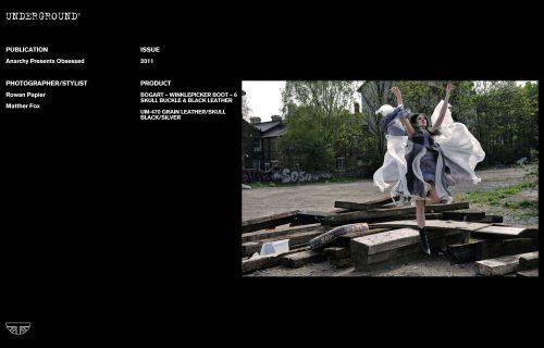 Press Features Gallery - Independents Photographer/Stylist: Rowan Papier Matther Fox