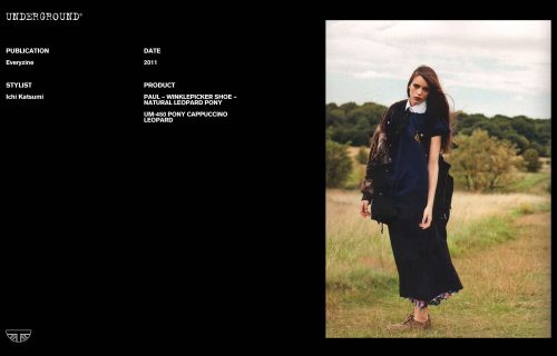 Press Features Gallery - Independents Stylist: Ichi Katsumi UM-450 PONY CAPPUCCINO LEO