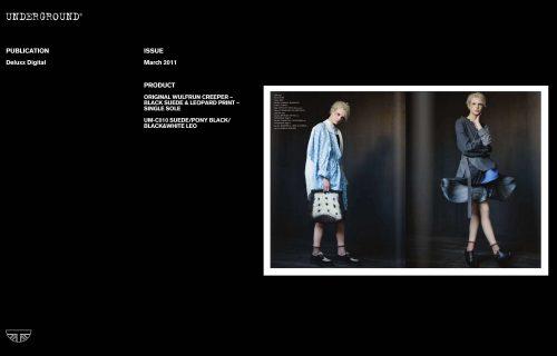 Press Features Gallery - Independents UM-C010 SUEDE/PONY BLACK/BLACK&WHITE LEO