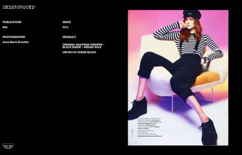 Press Features Gallery Elle Photographer/Stylist: Anne-Marie Brouillet