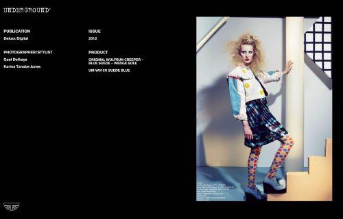 Press Features Gallery - Independents 2012 Photographer/Stylist: Gael Delhaye Karina Tanabe Jones