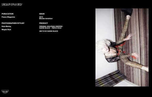 Press Features Gallery Independents 2012 Photographer/Stylist: Kate Marley Magda Bryk