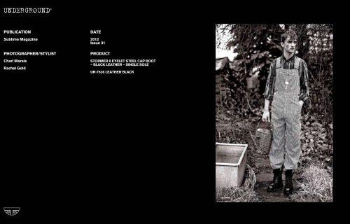 Press Features Gallery - Independents 2012 Photographer/Stylist: Charl Marais Rachel Gold