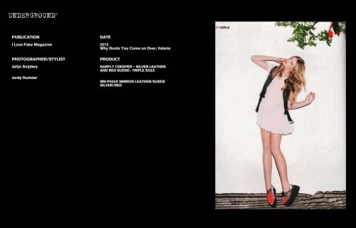 Press Features Gallery - Independents 2012 Photographer/Stylist: Joliyn Snijders Jordy Huinder