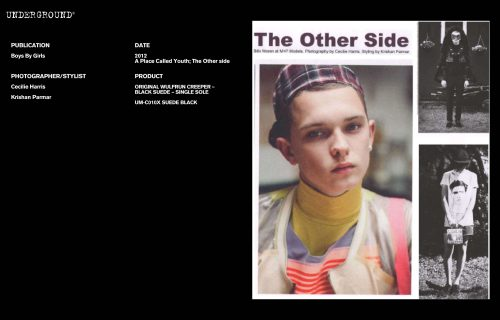 Press Features Gallery - Independents 2012 Photographer/Stylist: Cecilie Harris Krishan Parmar