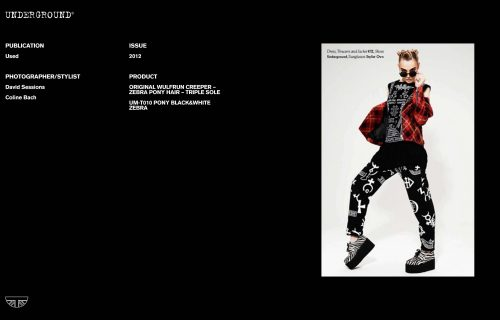 Press Features Gallery - Independents 2012 Photographer/Stylist: David Sessions Coline Bach