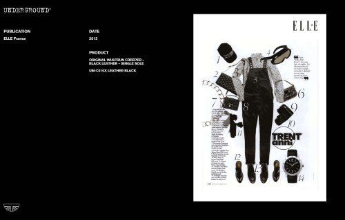 Press Features Gallery - Elle UM-C010X LEATHER BLACK