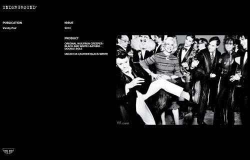 Press Features Gallery - Vanity Fair UM-D010X LEATHER BLACK/WHITE
