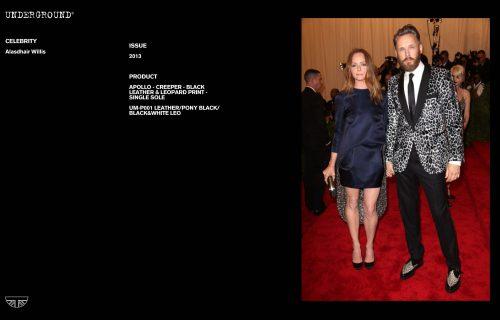 Press Features Gallery - Celebrities UM-P001 LEATHER/PONY BLACK/BLACK&WHITE LEO