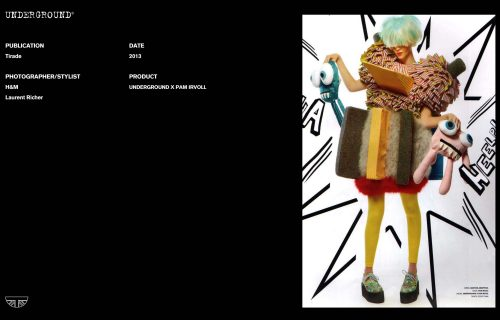Press Features Gallery - Independents 2013 Photographer/Stylist: H&M Laurent Richer