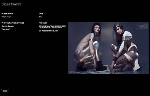 Press Features Gallery - Independents 2013 Photographer/Stylist: Camille Sanson Valentina T