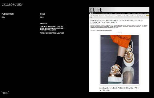 Press Features Gallery Elle WM-D010WX MIRROR LEATHER