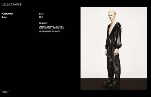 Press Features Gallery - Independents 2014 UM-D010X LEATHER BLACK