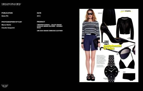 Press Features Gallery - Independents 2014 Photographer/Stylist:Marco Rufini Claudia Gasparini