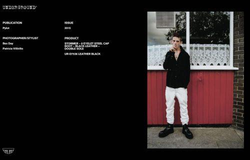 Press Features Gallery - Pylot Photographer/Stylist: Bex Day Patricia Villirillo