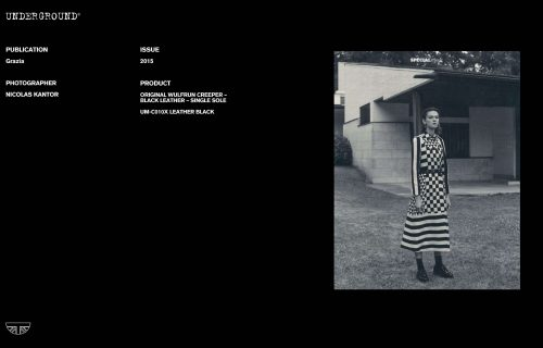 Press Features Gallery - Grazia Photographer: Nicolas Kantor