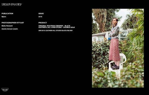 Press Features Gallery - Nylon Photographer/Stylist: Bella Howard Jeanie Annan-Lewin