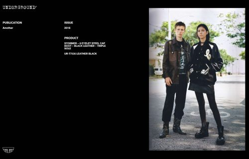 Press Features Gallery - Another UR-T7536 LEATHER BLACK