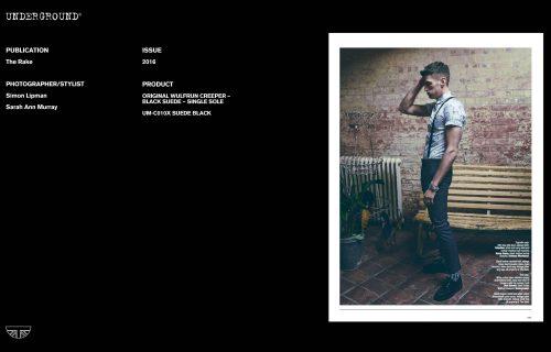 Press Features Gallery - Independents 2016 UM-C010X SUEDE BLACK
