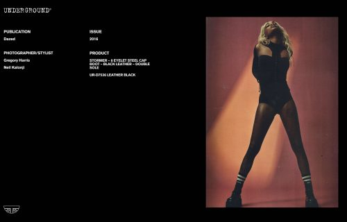 Press Features Gallery - Dazed Photographer/Stylist: Gregory Harris Neil Kalonji