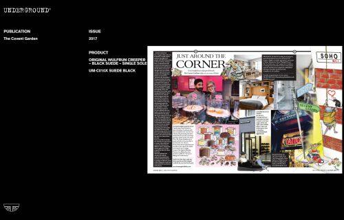 Press Features Gallery - Independents 2017 UM-C010 SUEDE BLACK