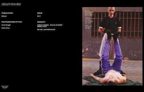 Press Features Gallery - Schon! Photographer/Stylist: Arne Grugel Celia Arias