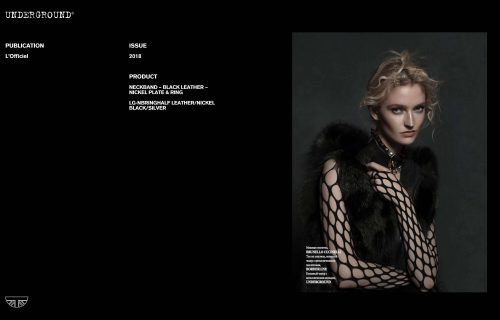 Press Features Gallery - L'Officiel LB-NBRINGHALF LEATHER/NICKEL BLACK/SILVER