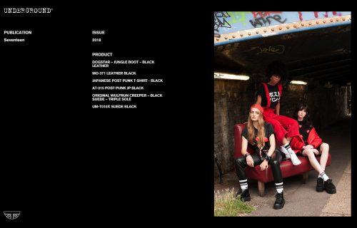 Press Features Gallery - Seventeen AT-015 JP POST PUNK BLACK