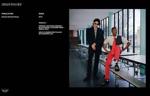 Press Features Gallery - Independents 2018 - UM-C010 SUEDE/PONY BLACK/BLACK&WHITE LEO