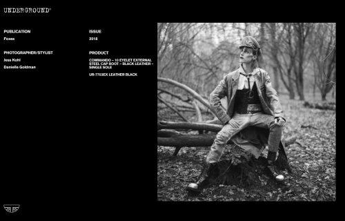 Press Features Gallery - Foxes Photographer/Stylist: Jess Kohl Danielle Goldman