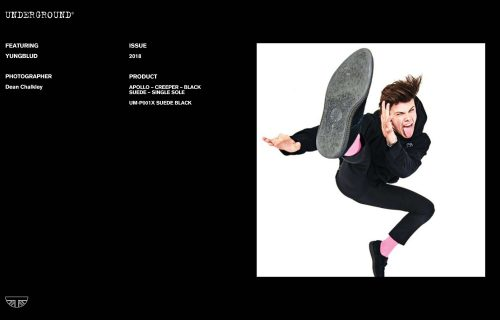 Press Features Gallery - Artists Yungblud UM-P001X SUEDE BLACK