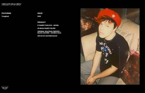 Press Features Gallery - Artists: Yungblud JR-NK003 RABBIT SILVER
