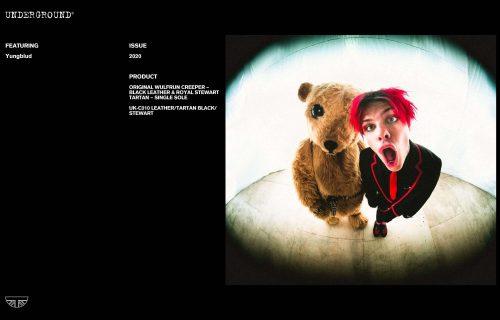 Press Features Gallery - Artists: Yungblud UM-C010 LEATHER/TARTAN BLACK/STEWART