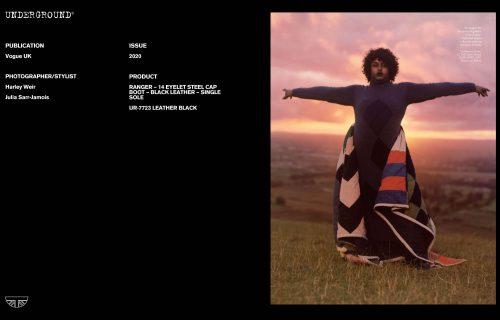 Press Features Gallery: Vogue UK Photographer/Stylist: Harley Weir Julia Sarr-Jamois