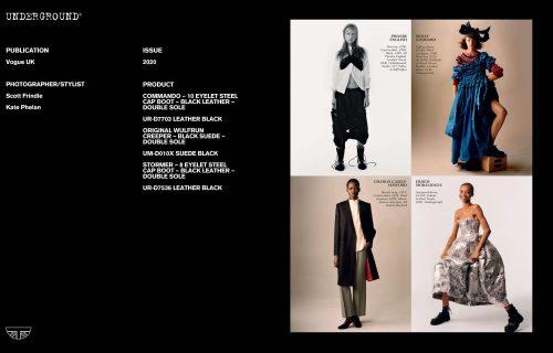 Press Features Gallery: Vogue UK Photographer/Stylist: Scott Frindle Kate Phelan