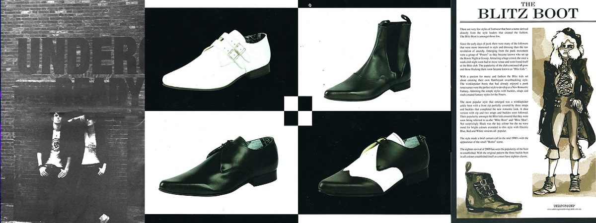The Androgynous 2000's - Underground London Shoes